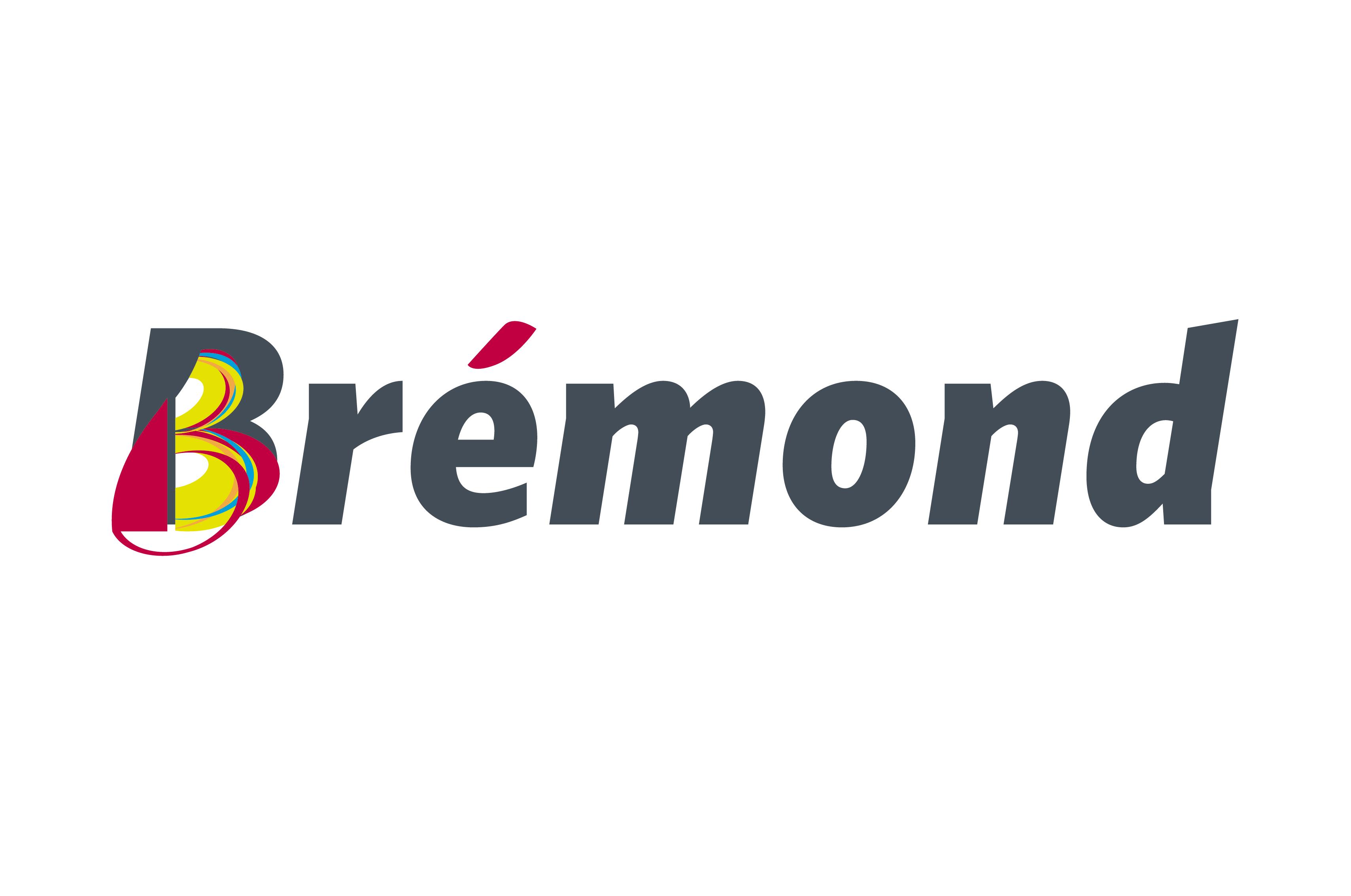 Brémond construction logo B accent identité communication